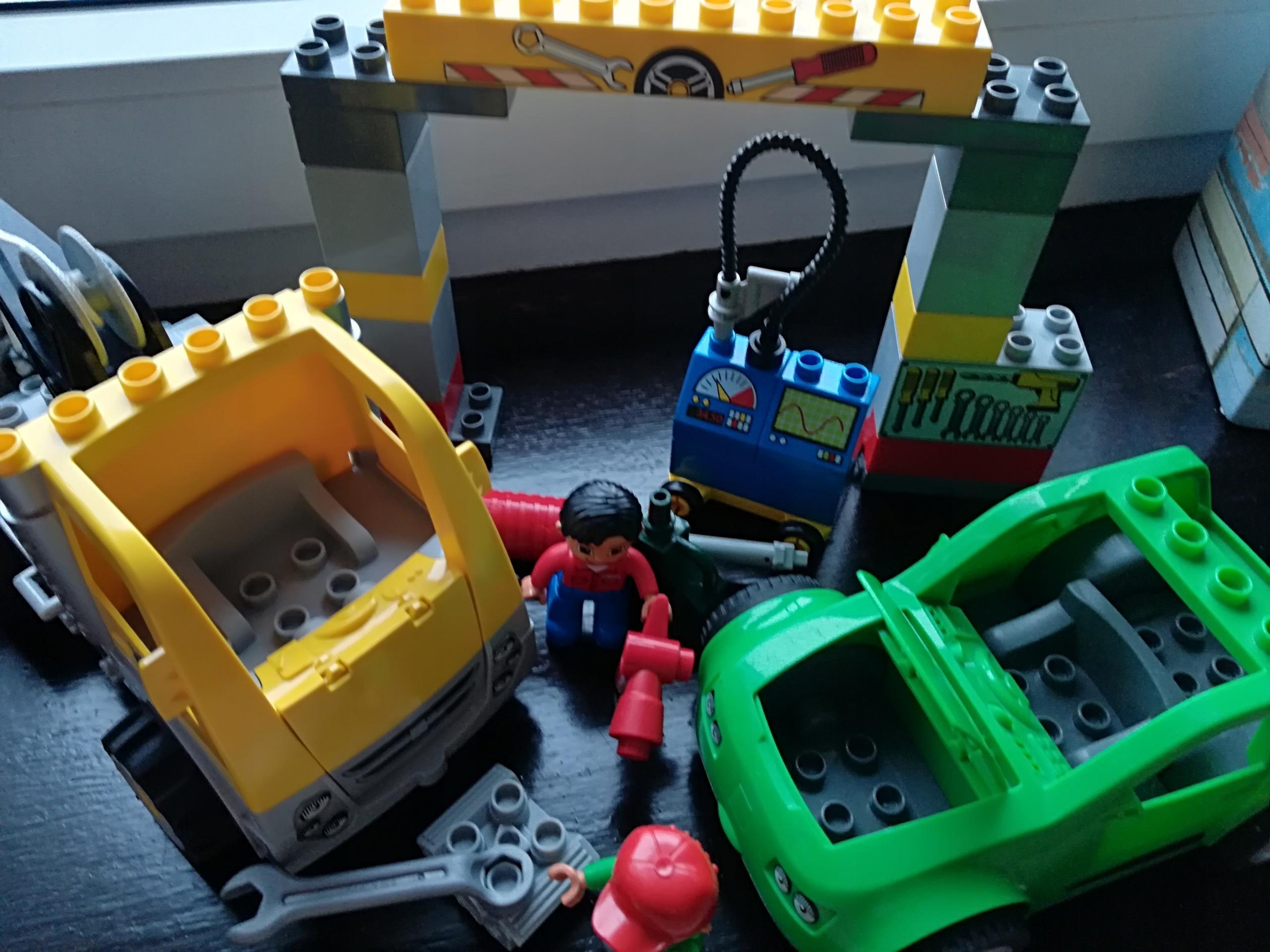 Klocki Lego Duplo Warsztat Samochodowy 5641 7641590269 Oficjalne