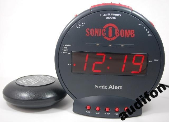 Budzik wibracyjny Sonic Bomb