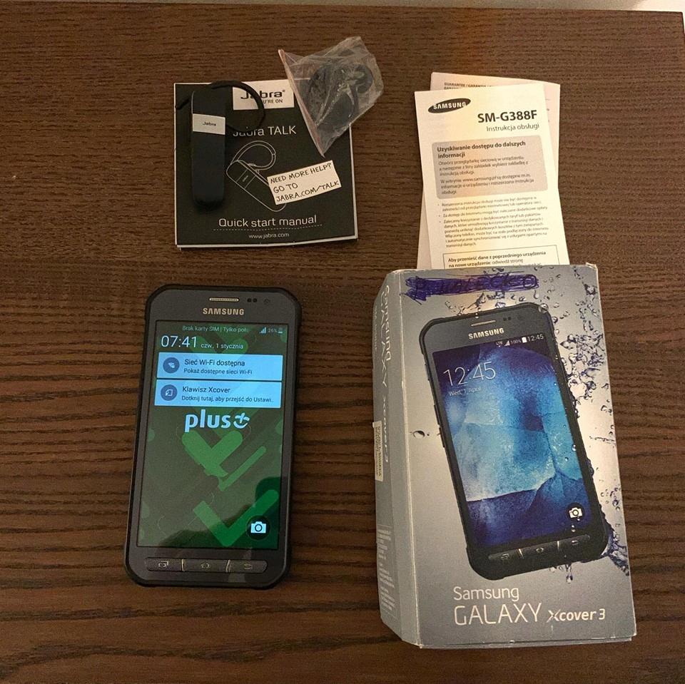 Samsung Xcover 3 / Wodoodporny IP67