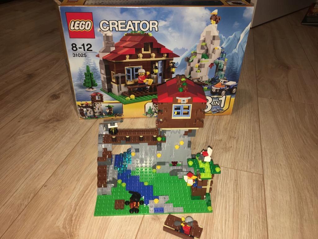 Lego 31025 Creator 3 Różne Domy Duże Kompletne 7717910012