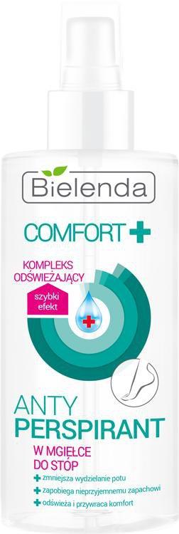 BIELENDA Comfort+ antyperspirant w mgiełce do stóp
