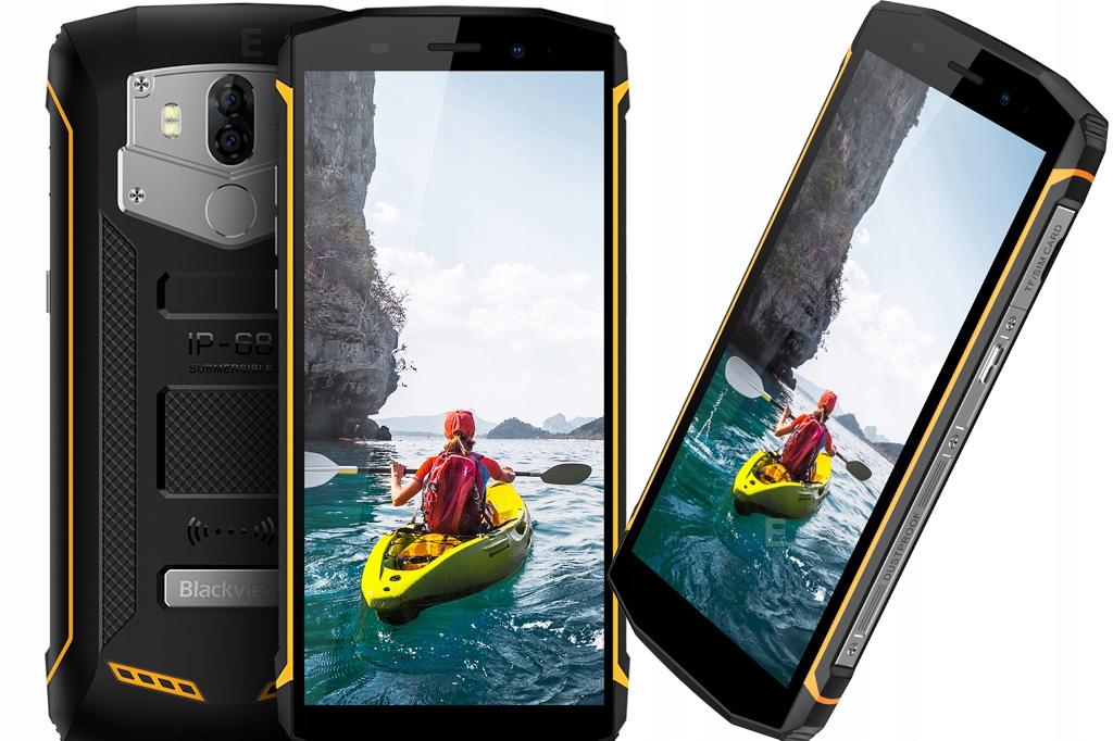 iGET Blackview GBV5800 Smartfon GorillaGlass 3 NFC