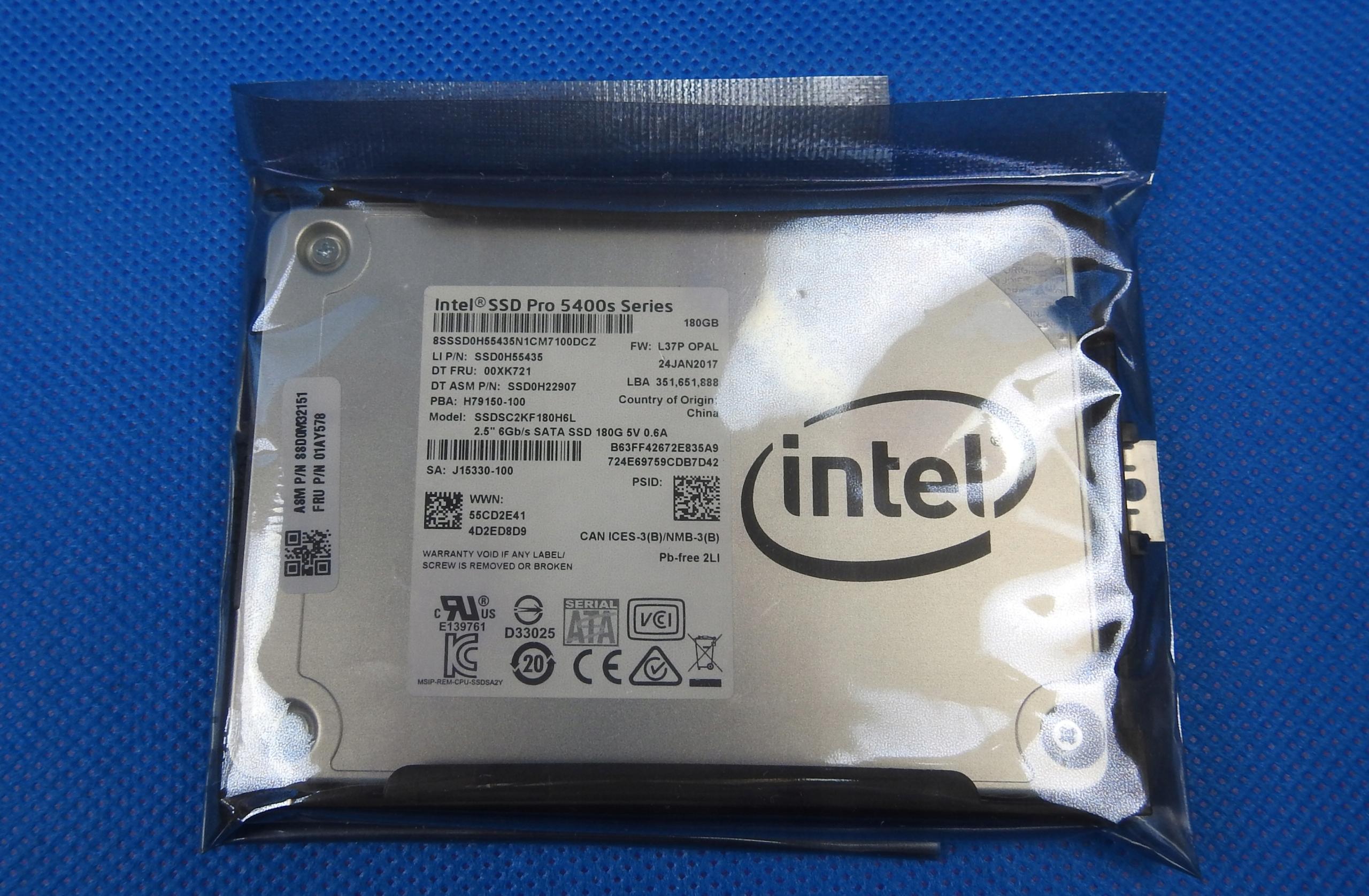 Dysk SSD Intel SSD Pro 5400s 180GB 475/560MBs