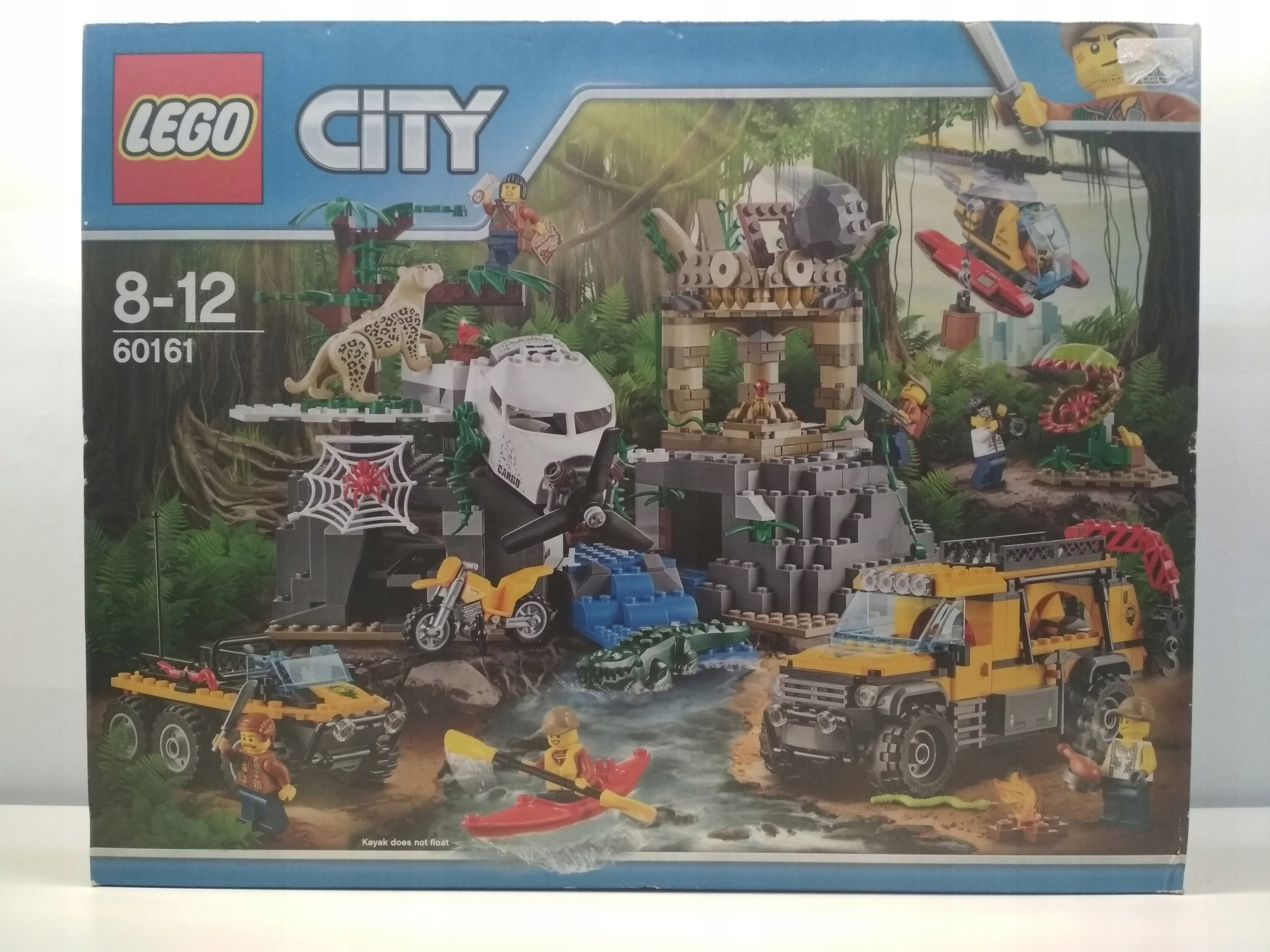 Lego City Jungle Explorers 60161 39928z 7598410452 Oficjalne