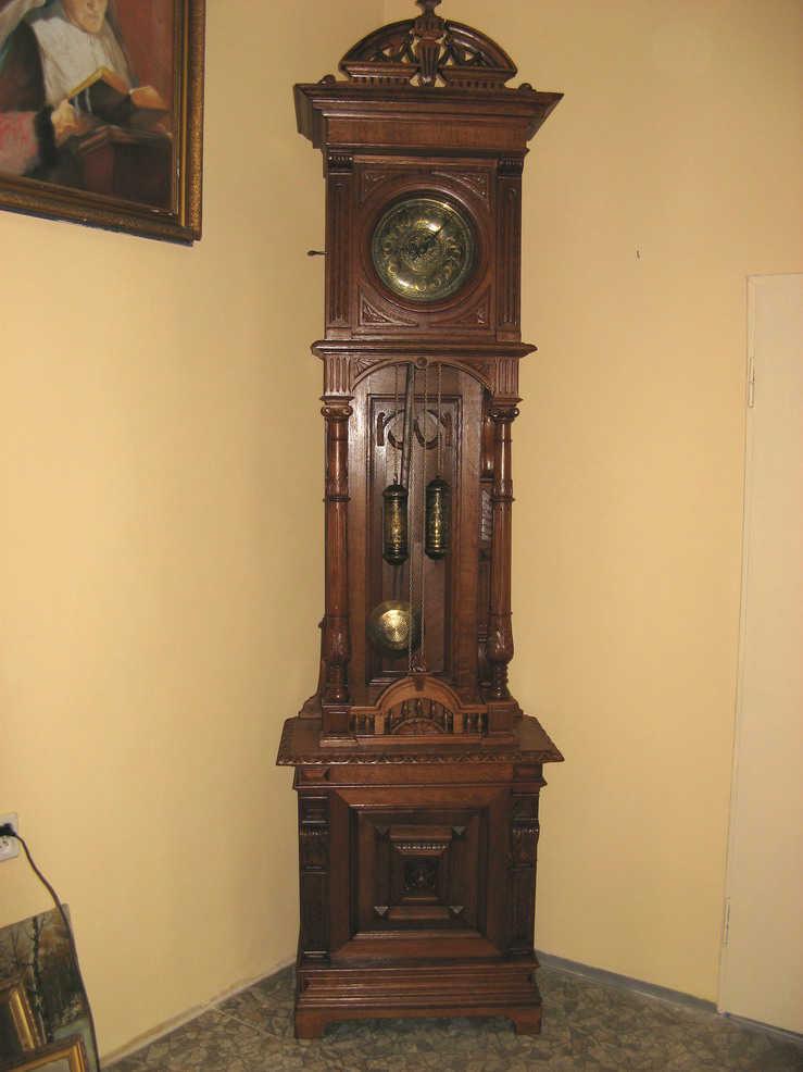 Zegar Stojący Przedwojenny Pałacowy