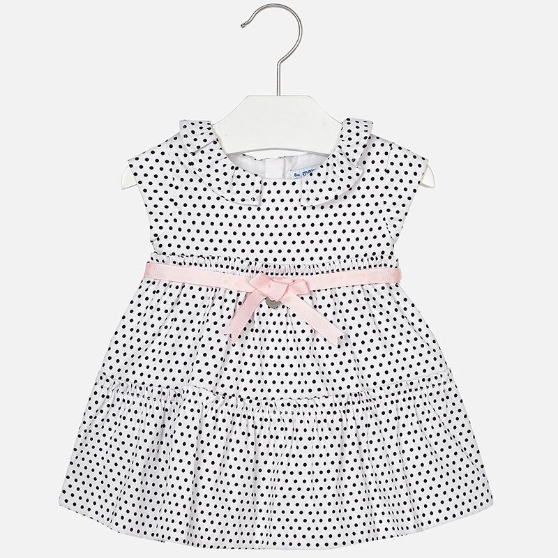 c49313d6f6 MAYORAL 1934 Sukienka w kropki (Rozmiar  80cm.) - 7325038469 ...