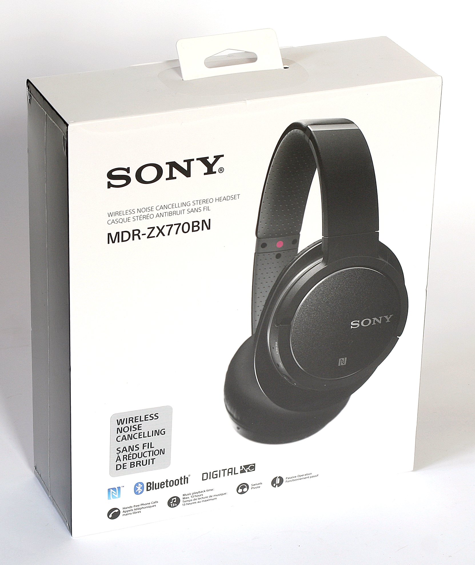 Sony Cancelling Image Mdrzx770bnb Noise Bluetooth Headphones Of