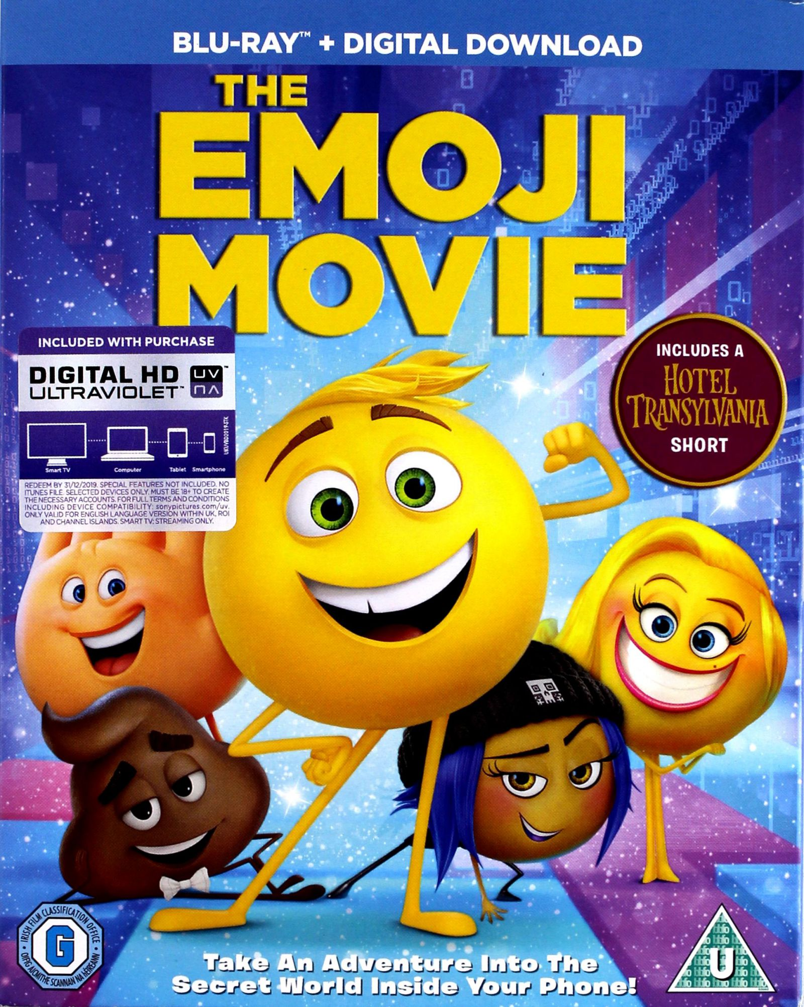 EMOTKI. FILM [BLU-RAY]