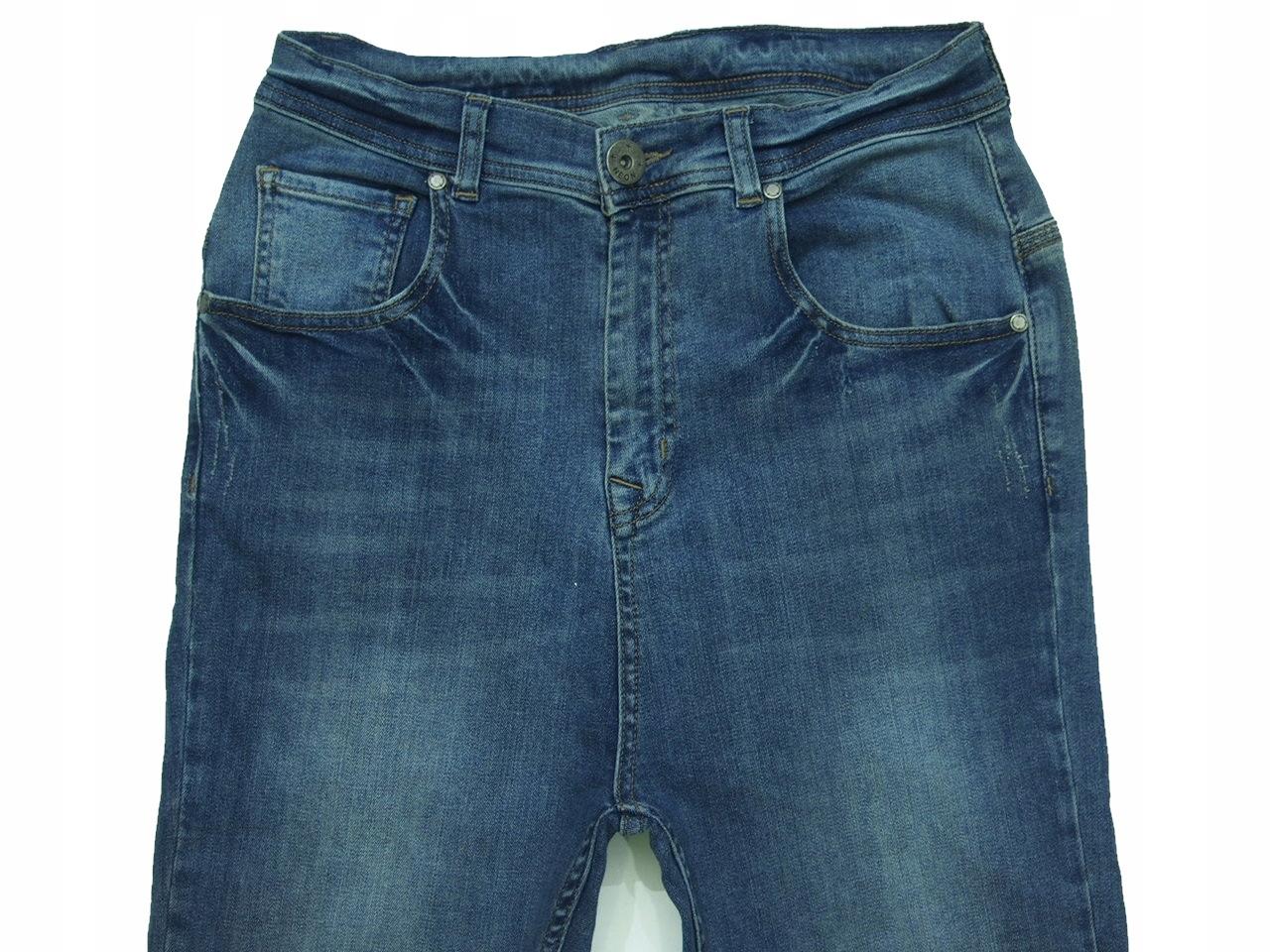 594856102599 ASOS jeans spodnie dżins lycra slim 30x32 38 40 42 - 7687190930 ...