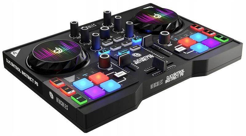 M1504 Kontroler DJ HERCULES DJ CONTROL INSTINCT P8