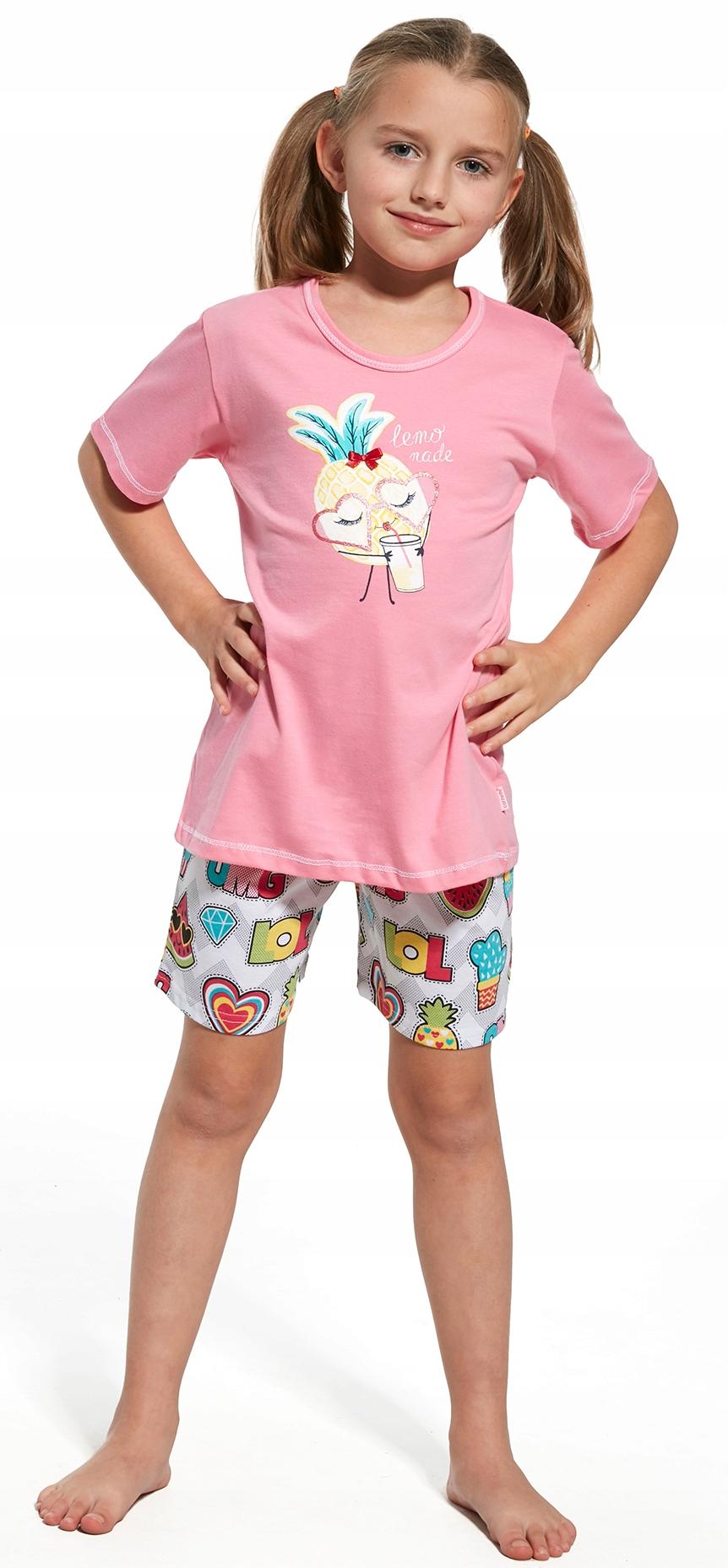 0eaa8f9fc1e156 CORNETTE piżama dziewczęca 787/55 bawełna# 110/116 - 7190105530 ...