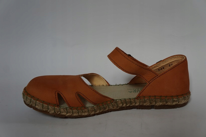 84a7b28b Buty EL NATURALISTA 37 skórzane sandały espadryle - 7448747362 ...
