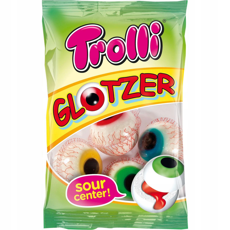Halloween Żelki Pianki oczy gałki Trolli Niemiecki