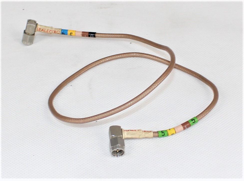 Przewód koncentryczny PTFE 2 x SMA 68 cm