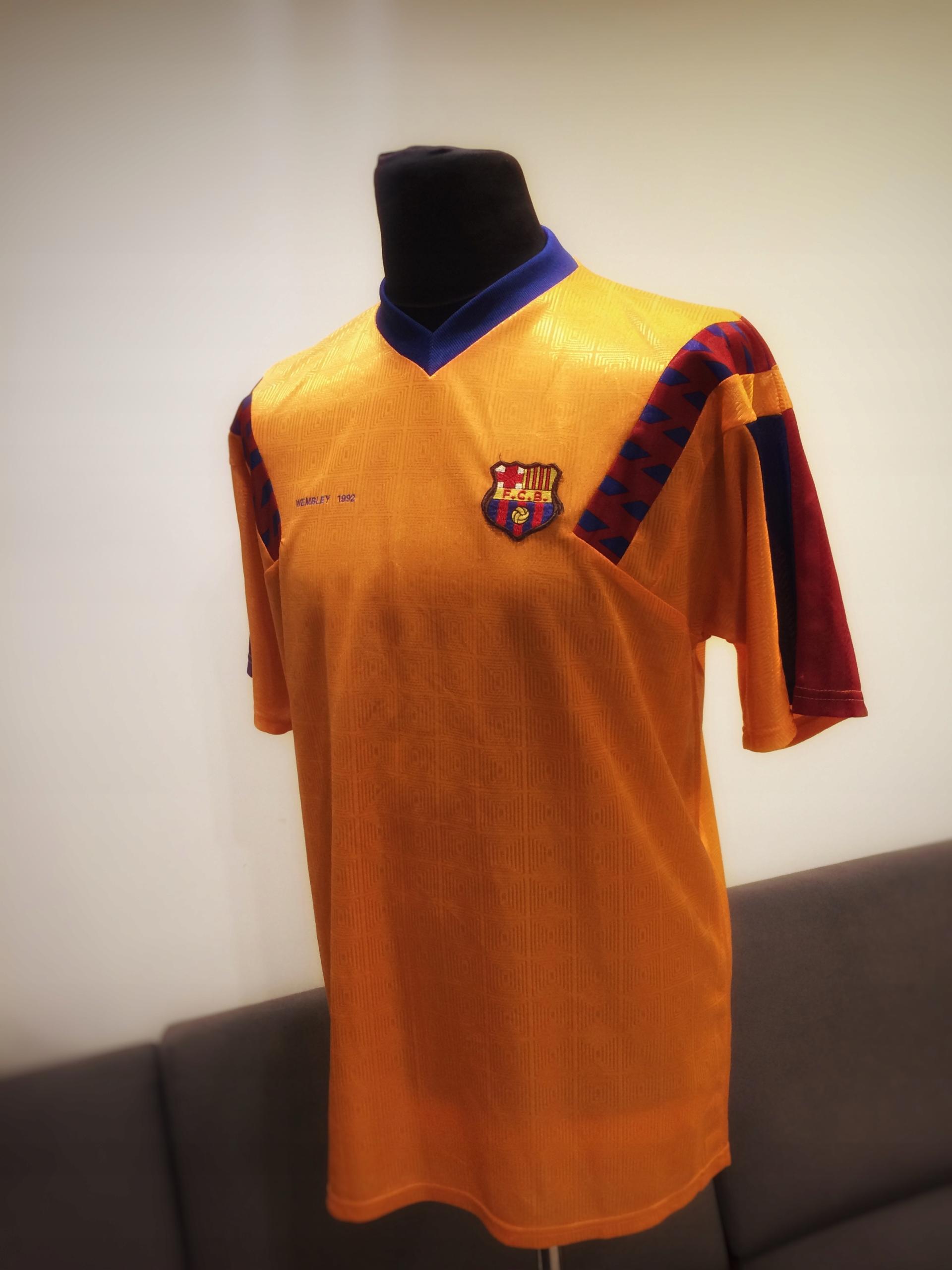 2ebb58093 Koszulka FC Barcelona 1992 retro UNIKAT - 7685110958 - oficjalne ...