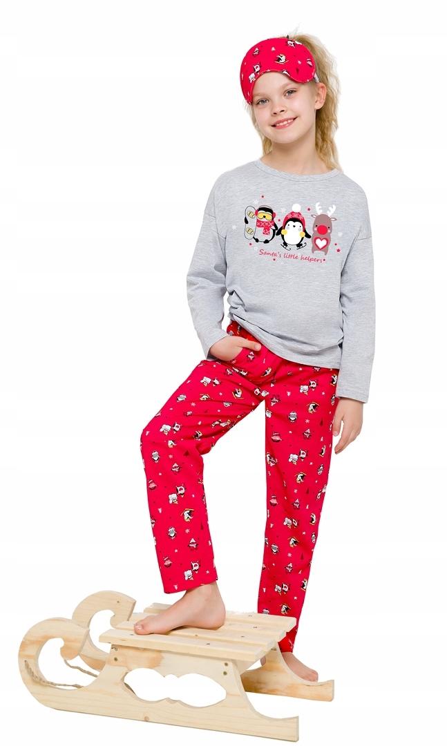 e6d87b7dfdf572 Piżama dziecięca Taro długa w świąteczne wzory - 7594475024 ...