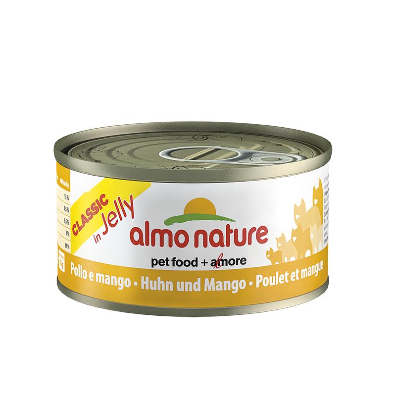 ALMO NATURE Classic in Jelly kurczak z mango 6x70g