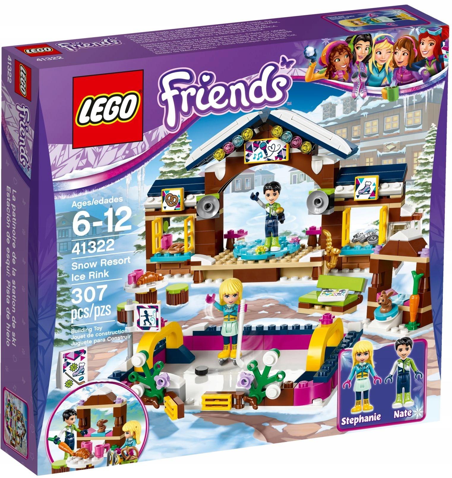 Lego Friends Lodowisko W Zimowym Kurorcie 41322 6826254523