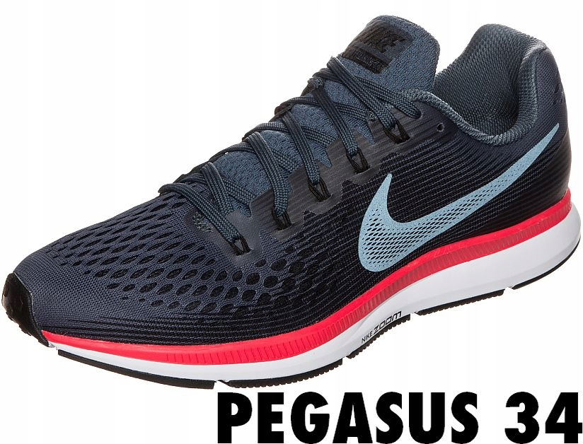 Nike AIR ZOOM PEGASUS 34, Buty Do Biegania r. 43