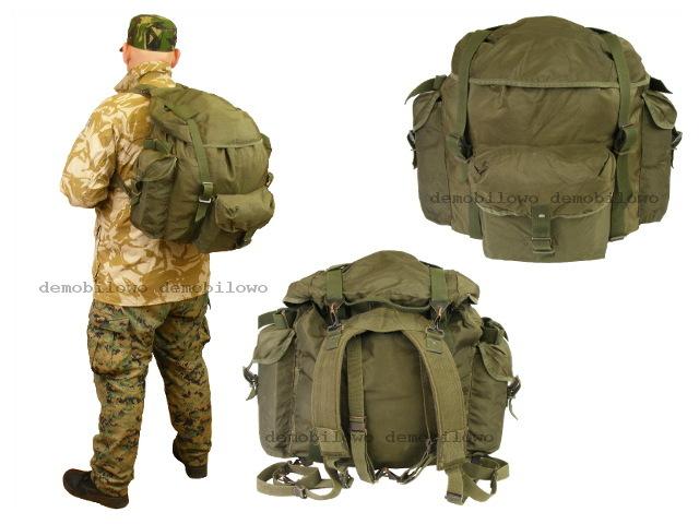 7fd0f93cf4a99 Duży Plecak Wojskowy Górski 60-80L WYPRAWOWY NOWY! - 7224479605 ...