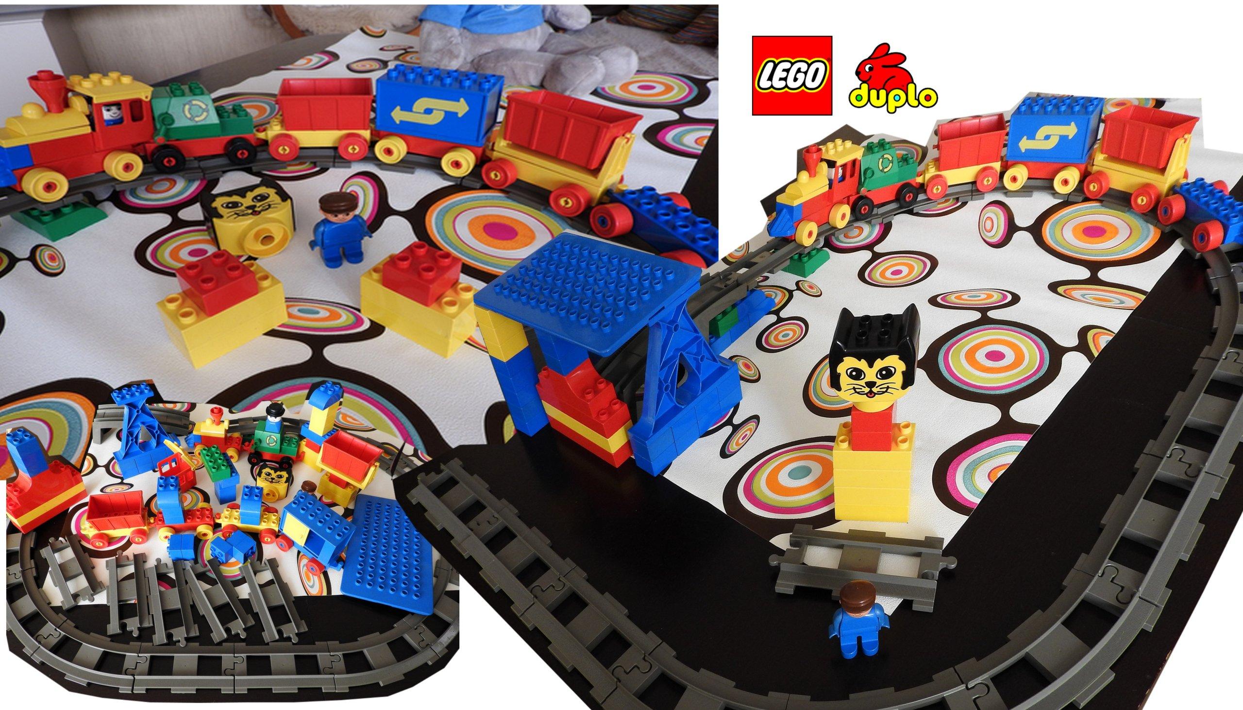 Lego Duplo Tory Ludzik Kolejka Super 7159325554 Oficjalne