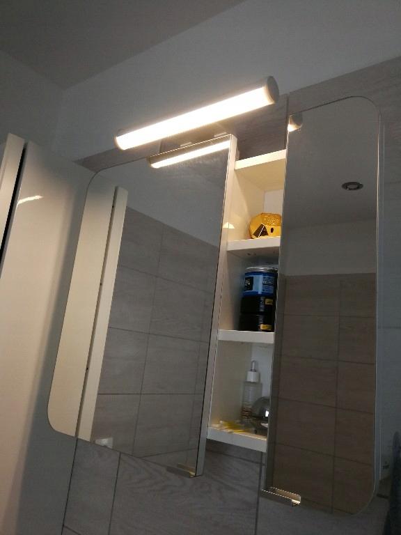 Ostana Lampa Ikea Oswietlenie Led Szafka Lazienka 7457872111