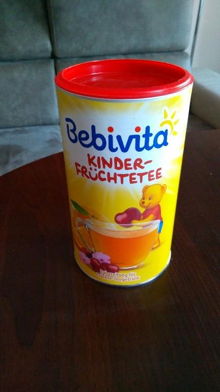 Bebivita herbatka rozpuszczalna owocowa od 12 mcy