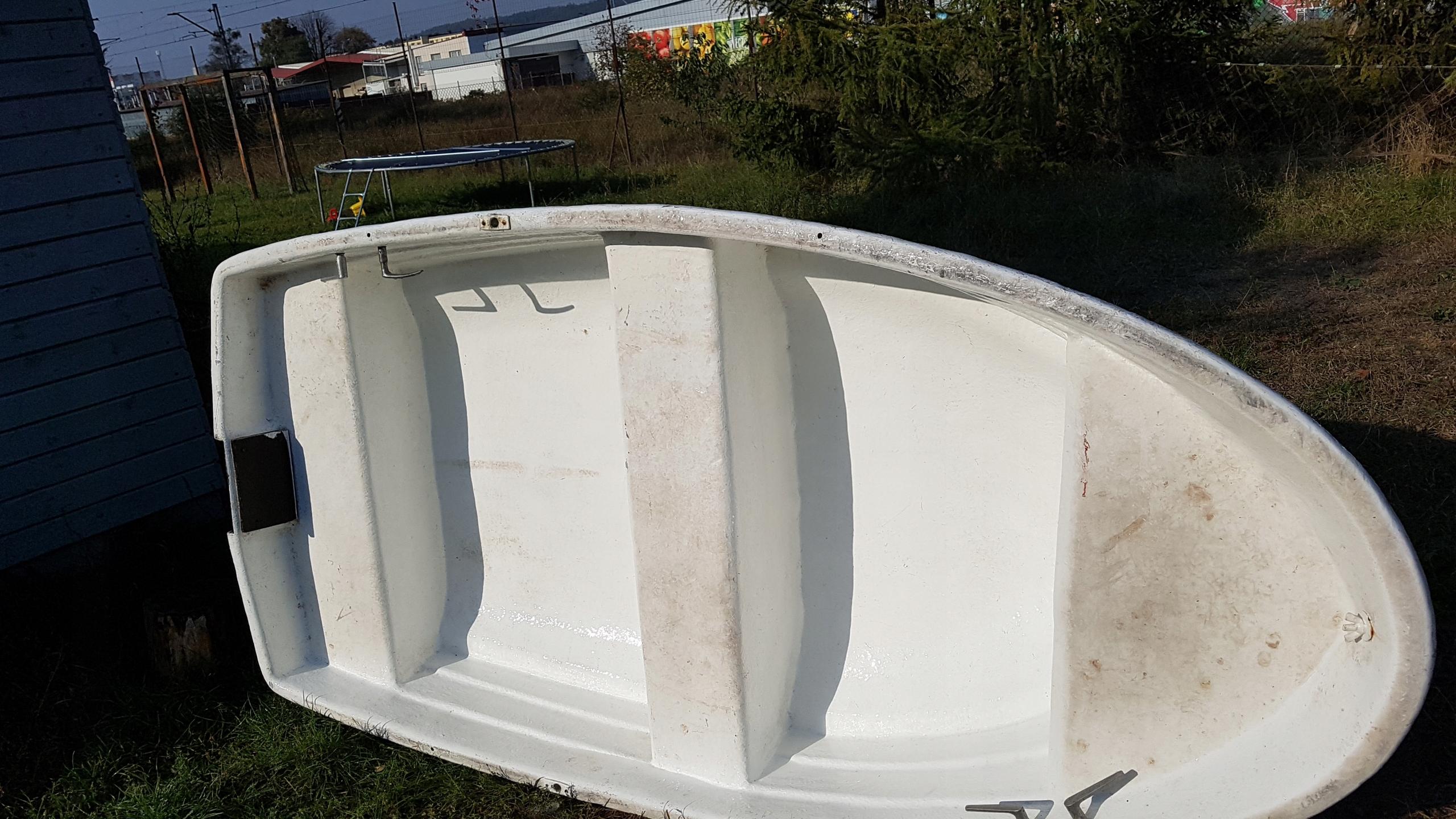 łódź wędkarska 2,5mx1,25m