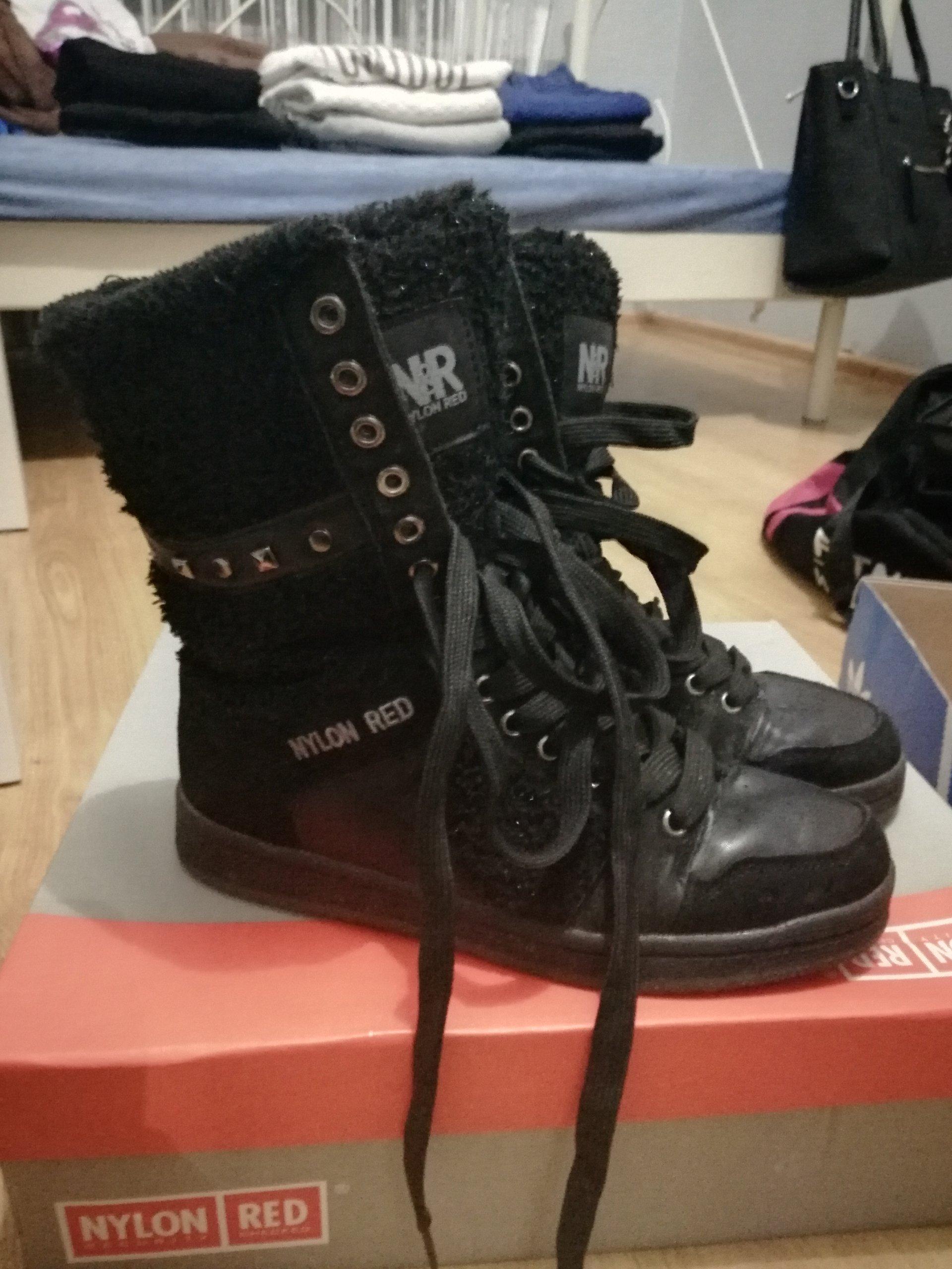 Buty śniegowce Czarne Ccc 7221661740 Oficjalne Archiwum Allegro