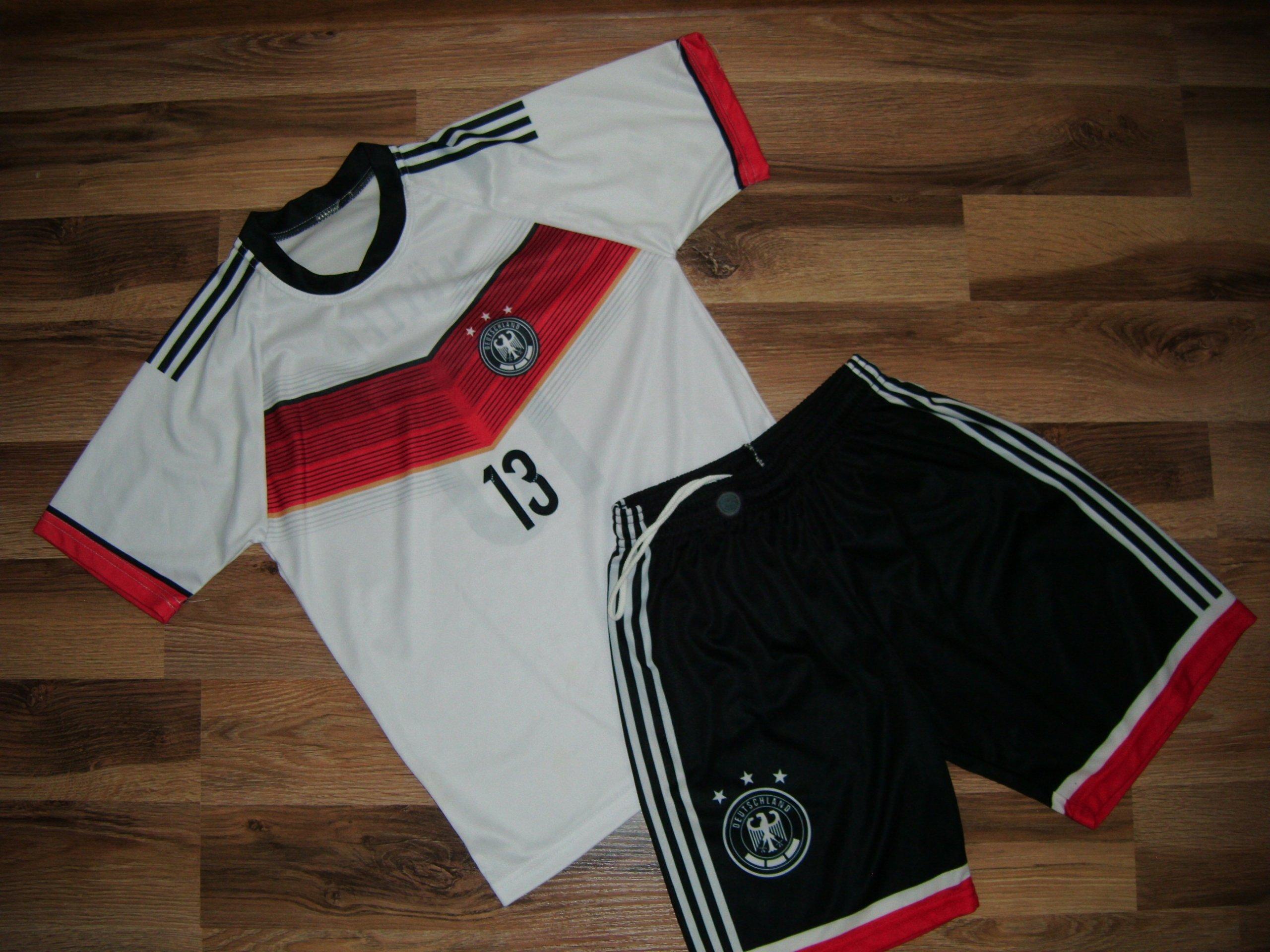 91fdfc1d0 140 strój piłkarski MULLER Niemcy - 7280324111 - oficjalne archiwum ...