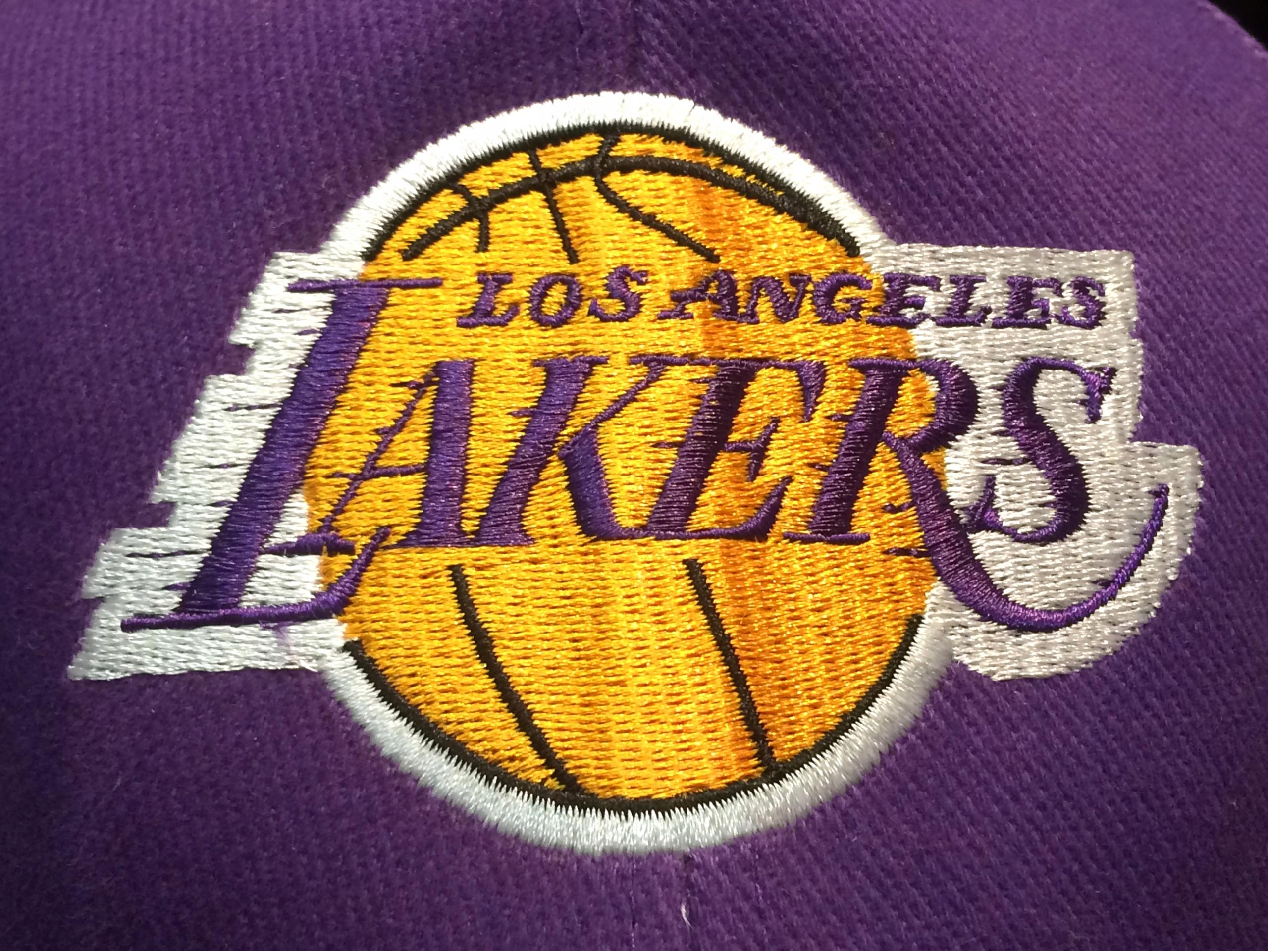 najlepsze buty szalona cena miło tanio Czapka z daszkiem NBA Los Angeles Lakers (fiolet)