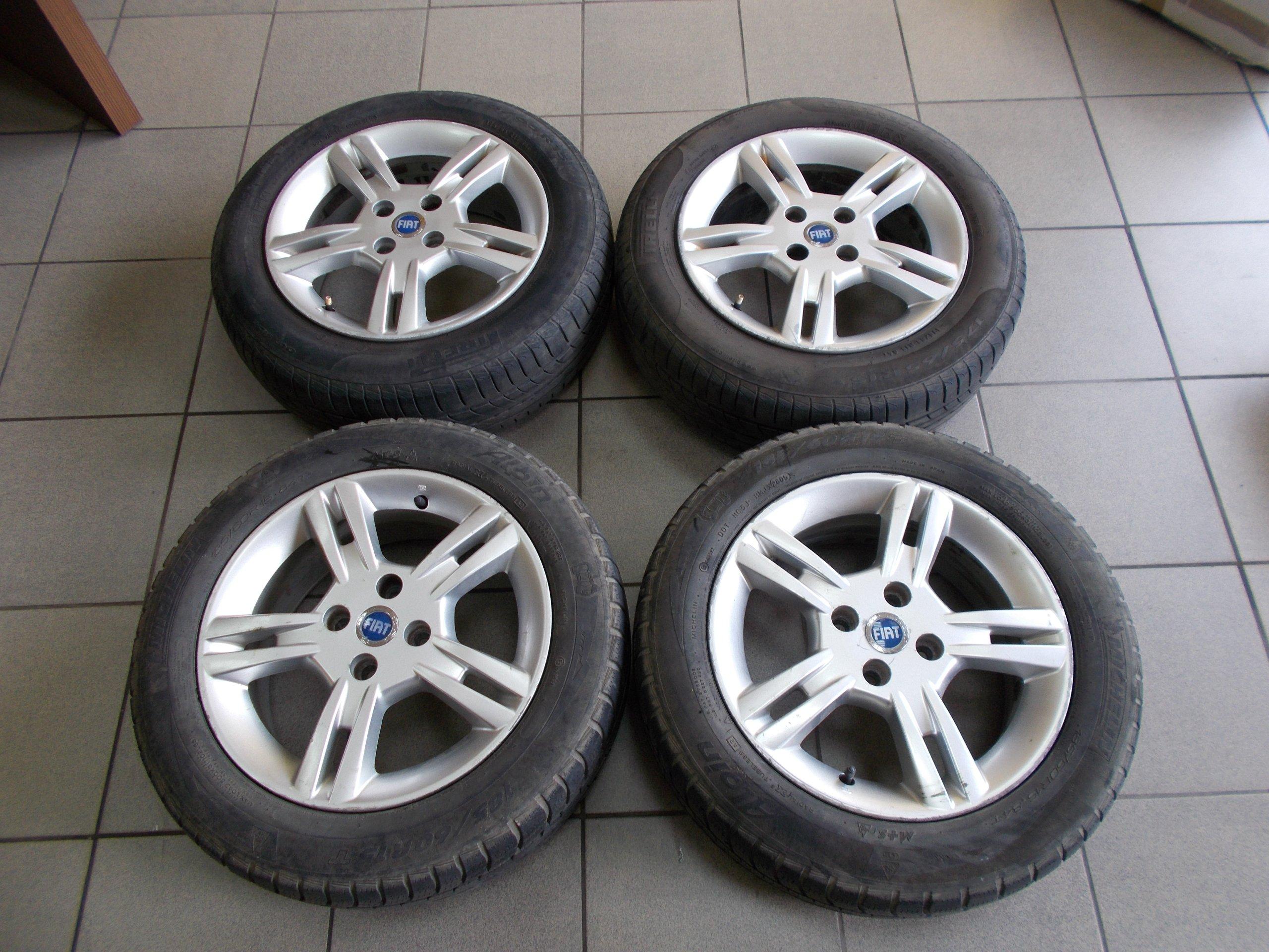 Fiat Grande Punto Felgi Aluminiowe Alufelgi Et43 7308101225