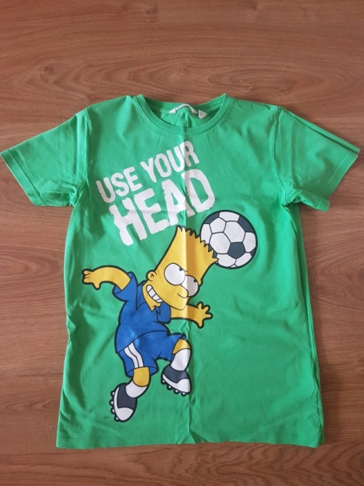 T shirt koszulka Bart Simpson h&m