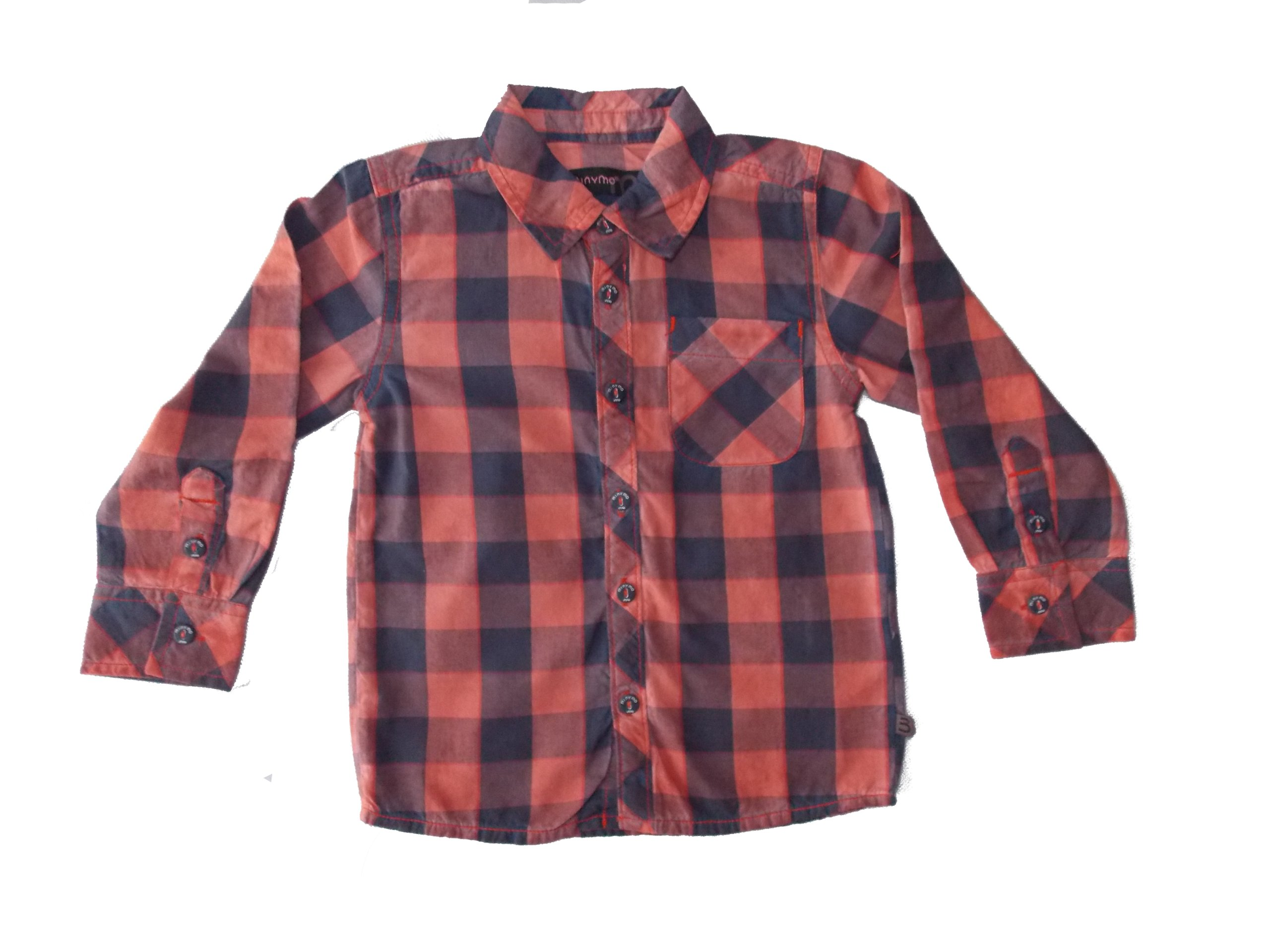 MINYMO koszula w kratę kratkę 92 18 24 1,5 2 7181280066  oJr2l