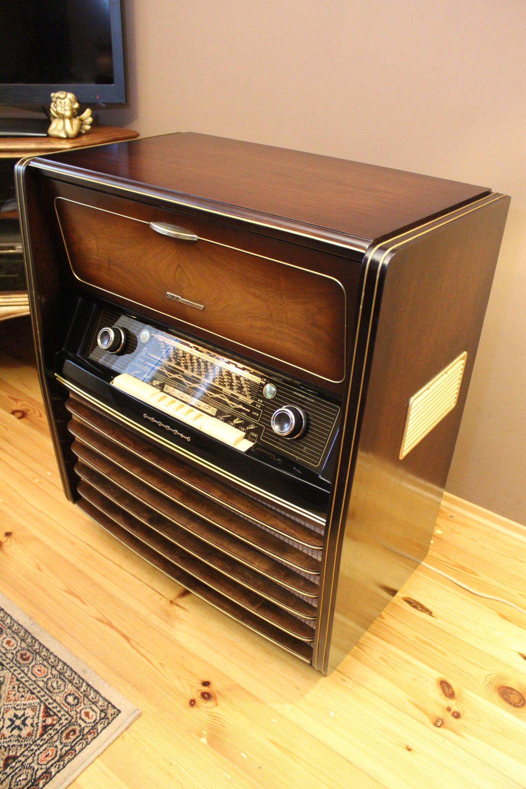 Radiola GRUNDIG musikschrank 8050 po RENOWACJI ! - 7002452071 ...