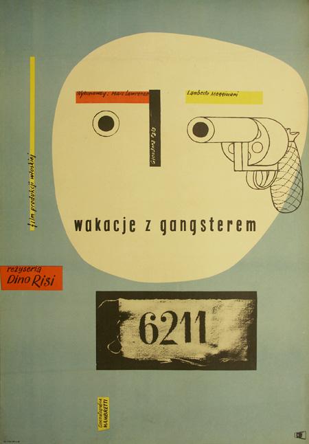 Plakat Wojciech Zamecznik Wakacje Z Gangsterem 6911188845