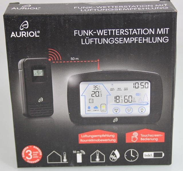 Auriol Funk Wetterstation Jak Nowe 7626837915 Oficjalne Archiwum