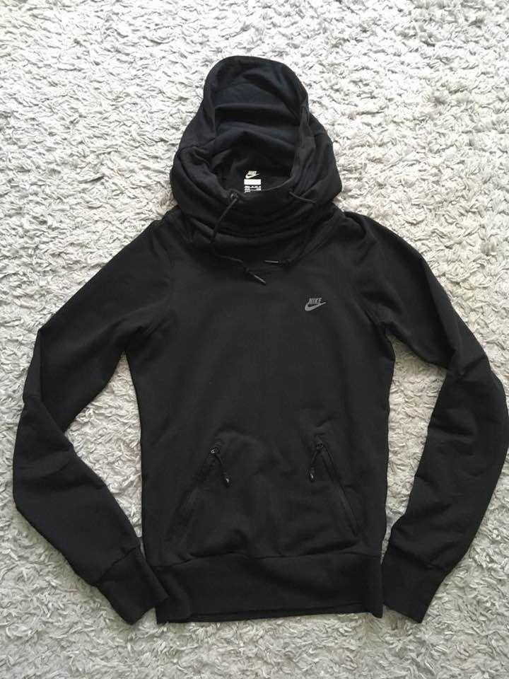 najnowsza kolekcja sprzedaż obuwia gorące wyprzedaże NIKE czarna bluza komin kaptur Slim XS - 7254111360 ...
