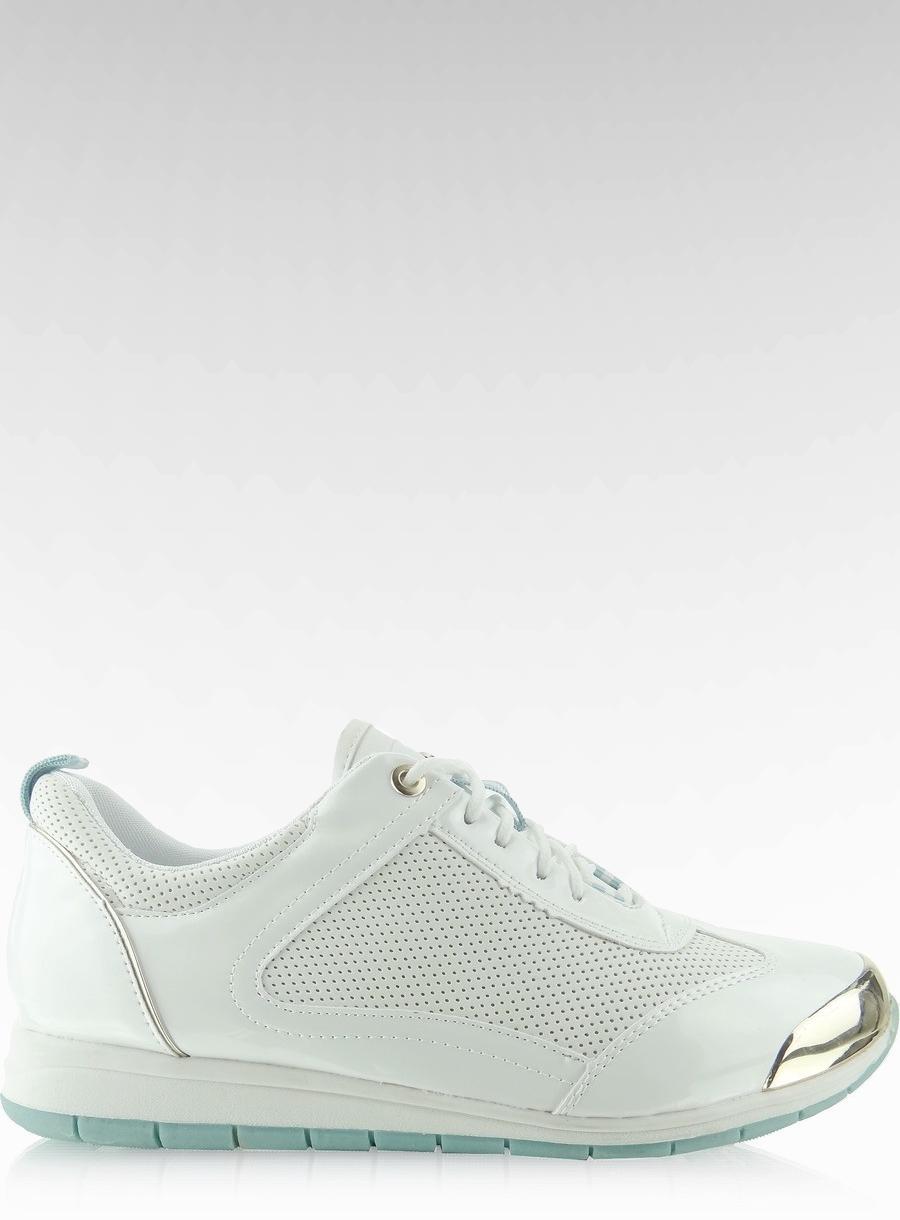 buty temperamentu ograniczona guantity 2018 buty Buty sportowe z blaszką Biały 39 migdałowy - 7463526471 ...
