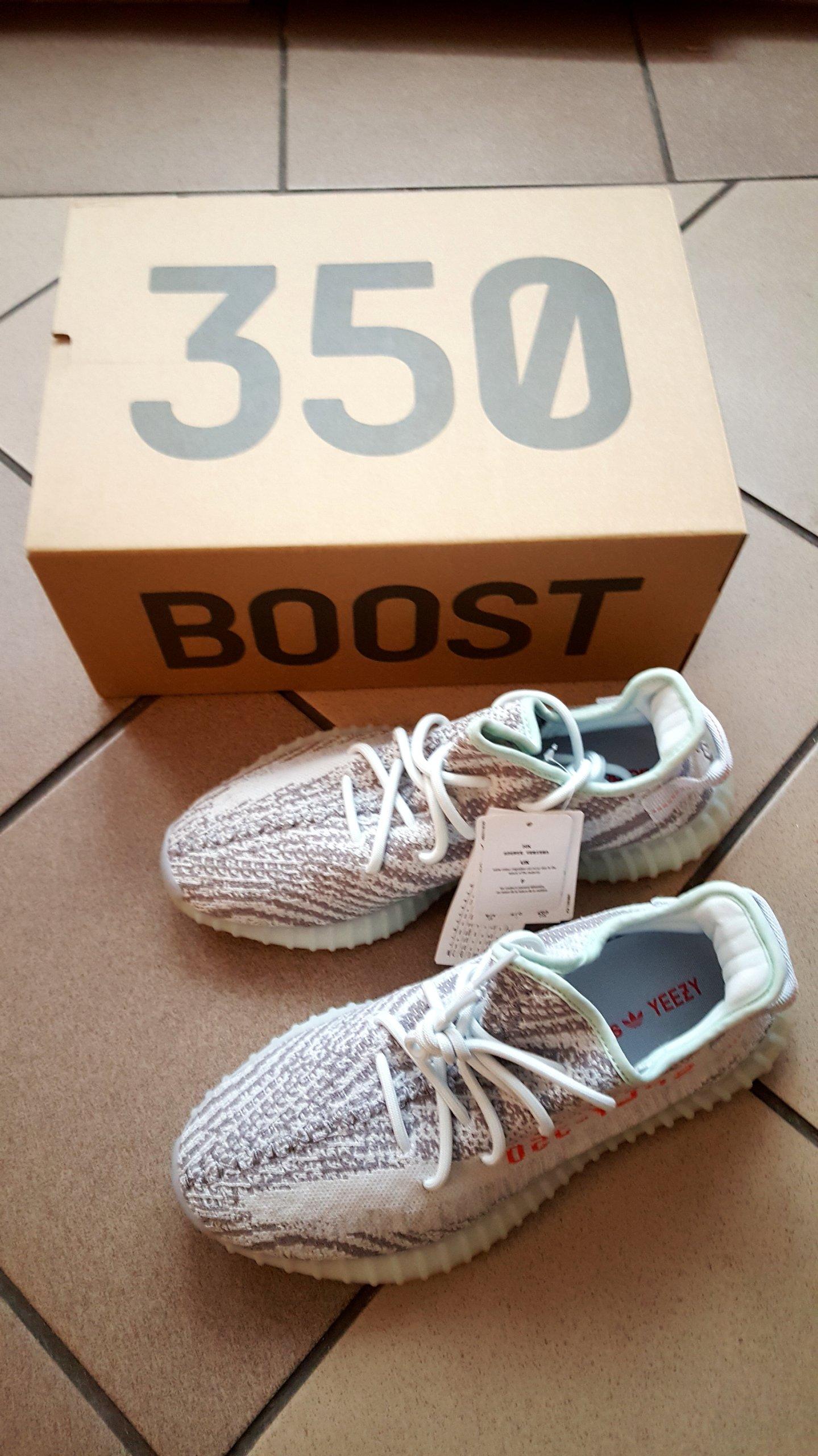buy popular fc19f 31c21 Adidas Yeezy Boost 350 V2 BLUE Tint rozm. 43 1 3