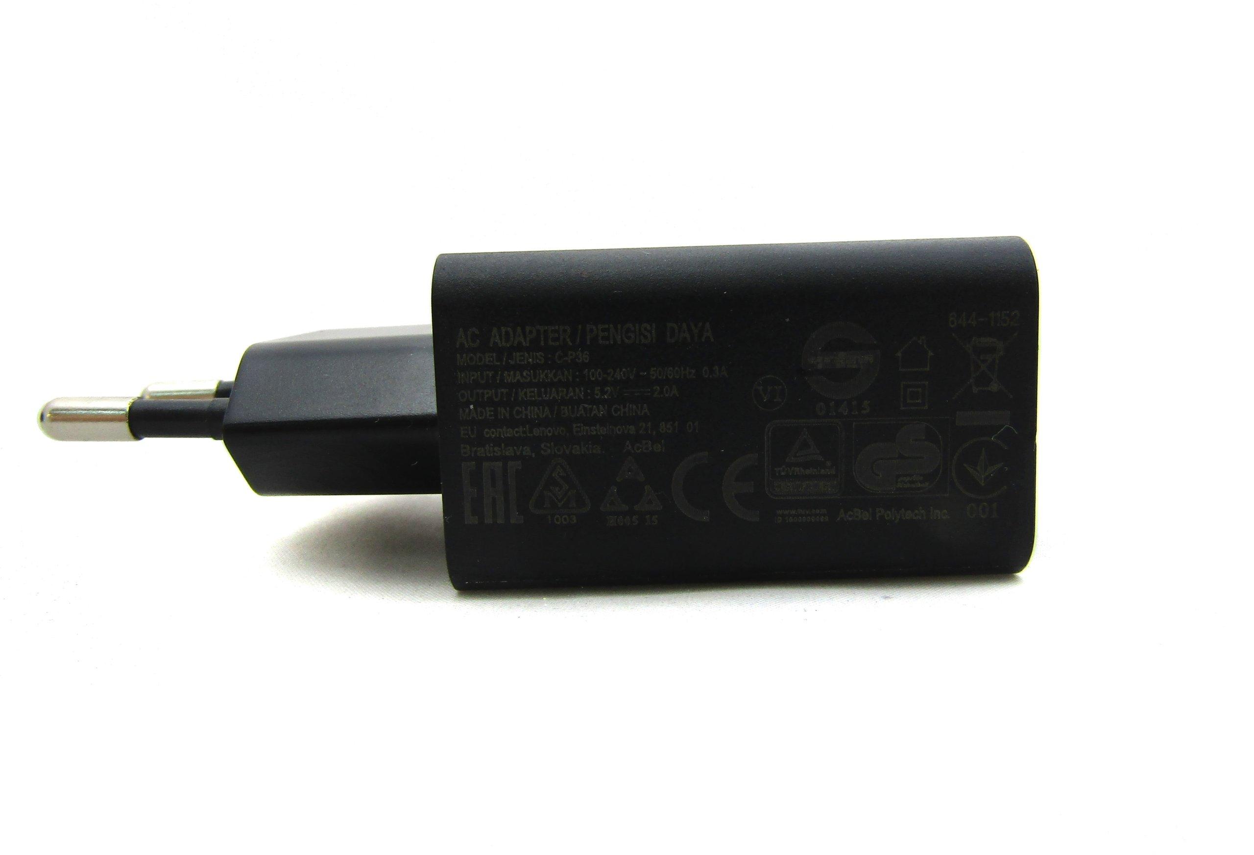 Adowarka Lenovo C P36 52v 20a 7264254750 Oficjalne Archiwum Charger 2a Original