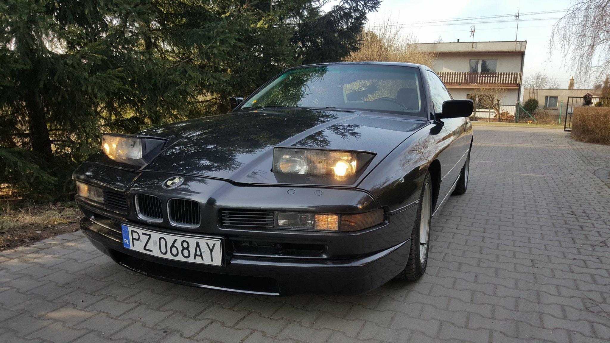 BMW 850 Ci lift