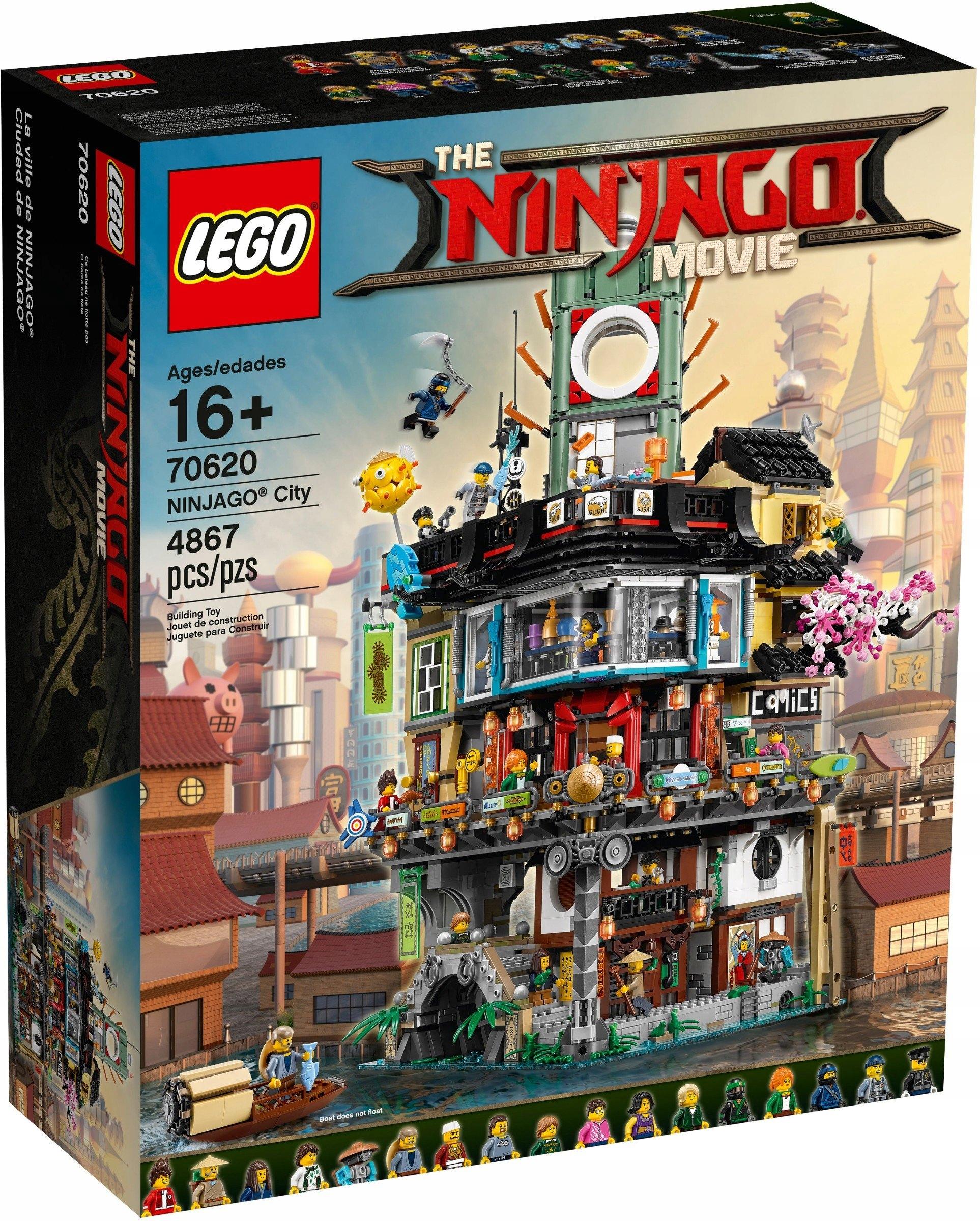 Klocki Lego Ninjago Movie 70620 Miasto Wielkie 7456374719