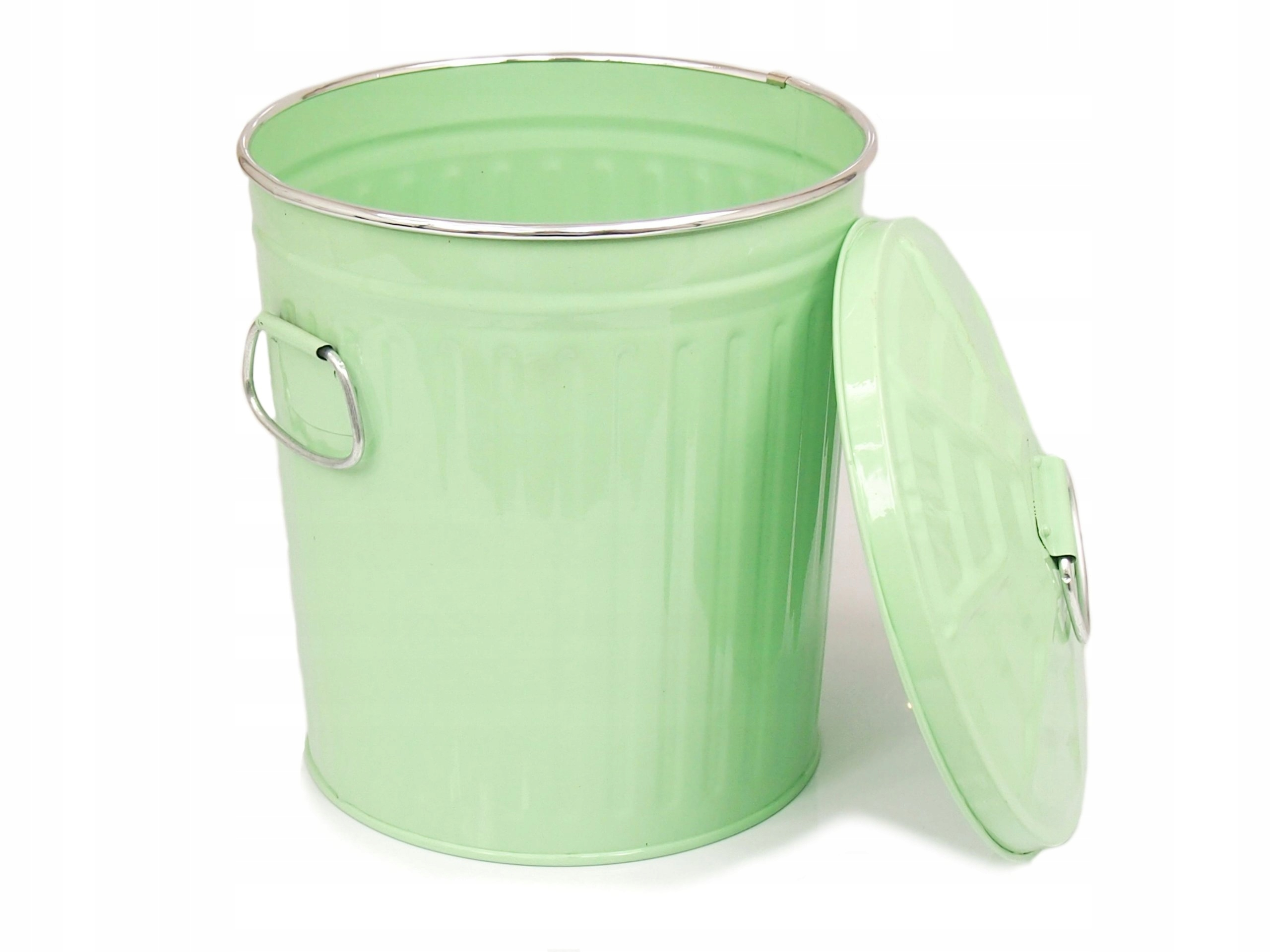 Topnotch duży KOSZ OCYNK pranie lub śmieci 40cm 43l miętowy - 6689332153 RL22