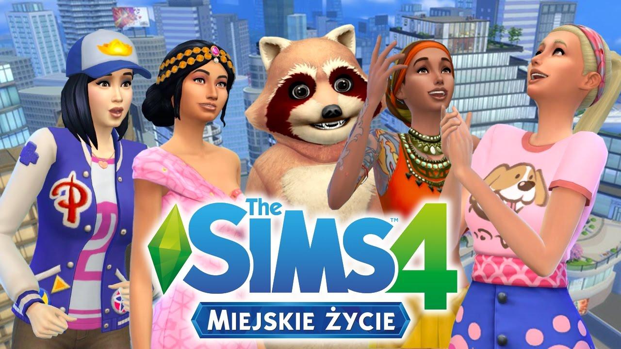 The Sims 4 Wszystkie Dodatki Miejskie życie 6739844825