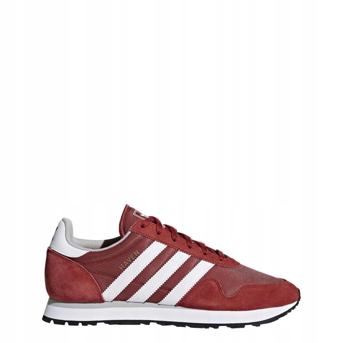 Buty męskie adidas HAVEN BY9714 | Biały, odcienie czerwieni