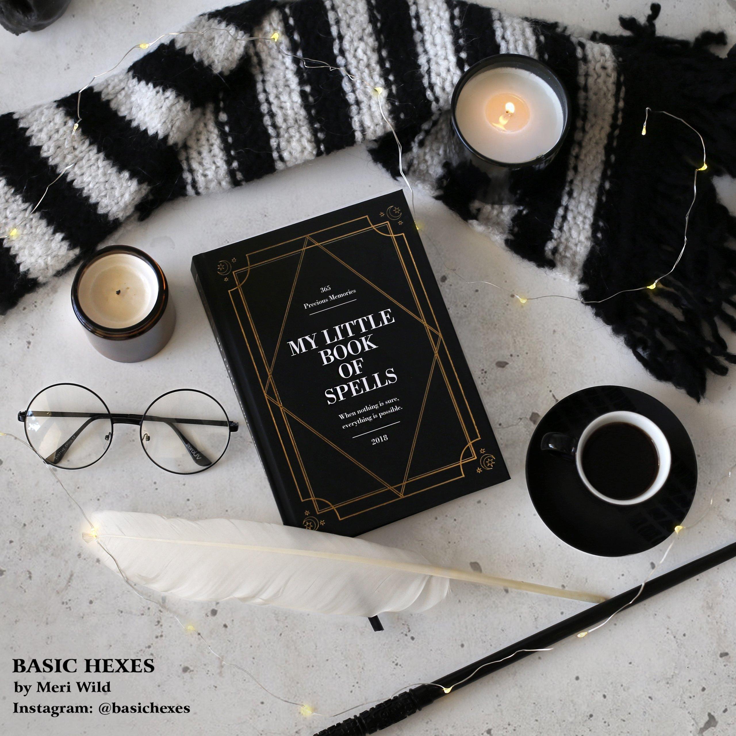 Planner kalendarz 2018 My Little Book Of Spells