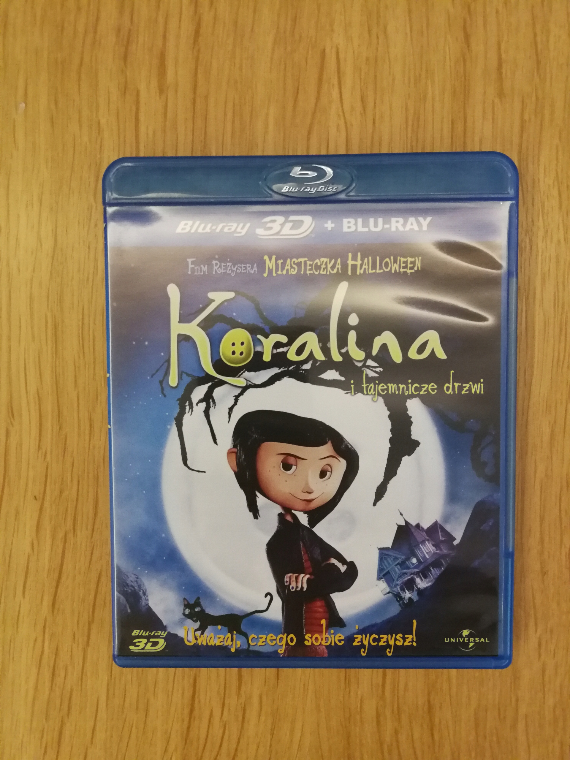 Film Blu-Ray Koralina 3D - igła