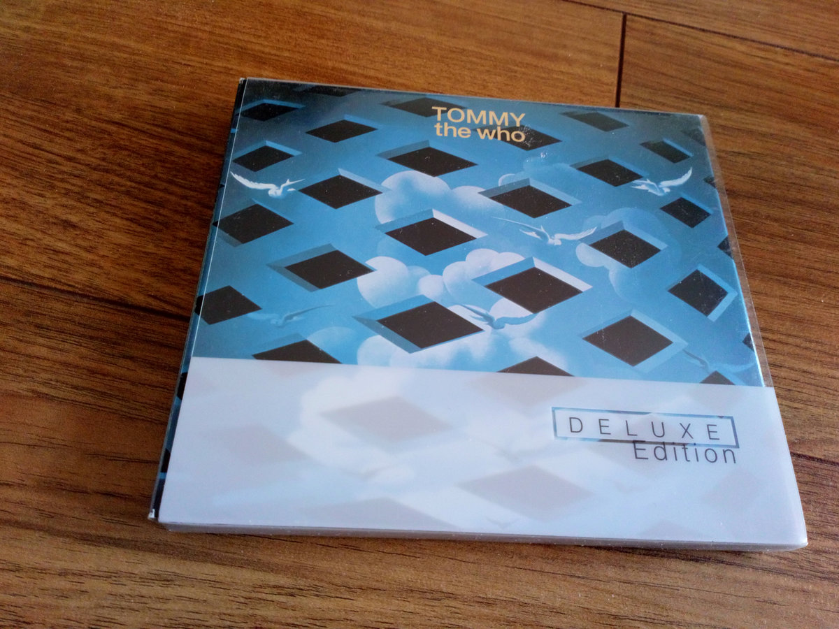 THE WHO TOMMY 2 x SACD 5.1 MULTICHANNEL DELUXE