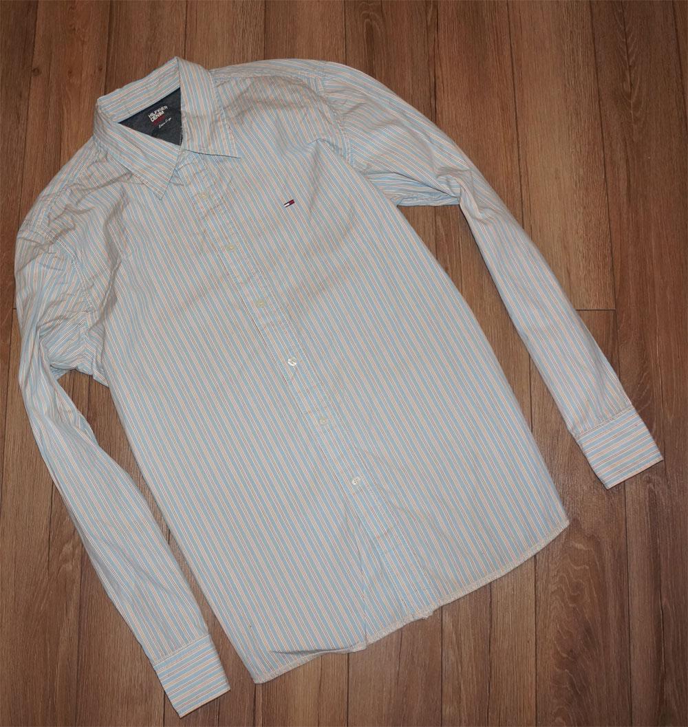 afa8cc7f9c19d Tommy Hilfiger denim koszula męska XL - 7163836950 - oficjalne ...